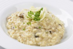 Risotto With Chicken & Mushrooms